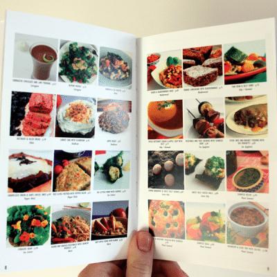 Recipes in The Sea Garden Cookbook