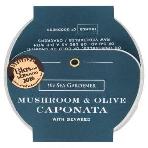 Mushroom and Olive Caponata with Seaweed